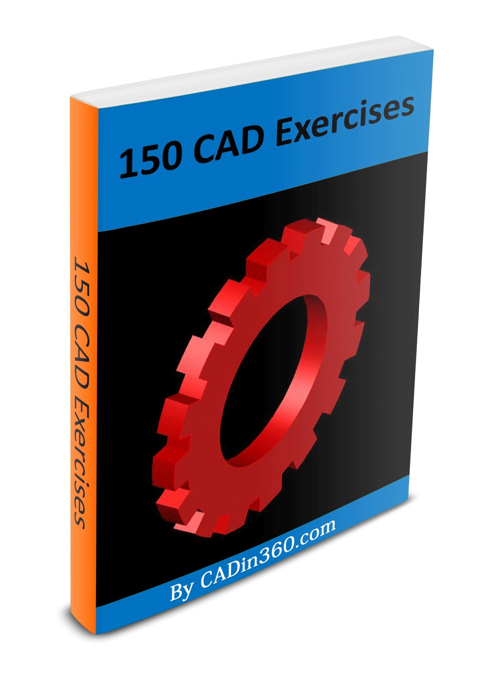 150 cad Exercises practice drawings for beginners 2D & 3D