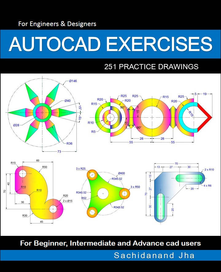 AutoCAD 2D Exercises